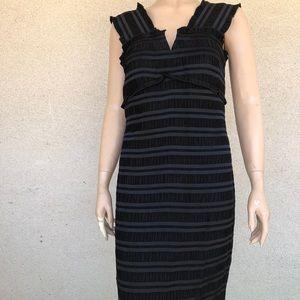Donna Morgan Black Dress Sz:10